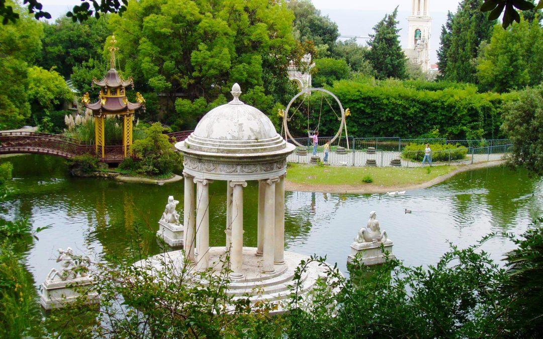 Villa Pallavicini é il parco più bello d'Italia